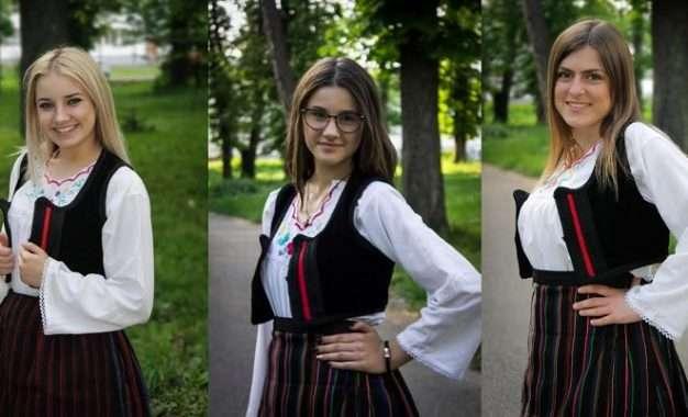 """NAJEPŠA OD NAJLEPŠIH""""MISS FOLKLORA BALKANA I EU"""" Ljubljana 2017"""